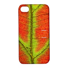 Nature Leaves Apple Iphone 4/4s Hardshell Case With Stand