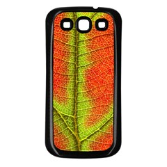 Nature Leaves Samsung Galaxy S3 Back Case (black)
