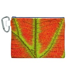 Nature Leaves Canvas Cosmetic Bag (xl)