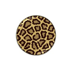 Leopard Hat Clip Ball Marker (4 Pack)