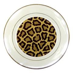 Leopard Porcelain Plates