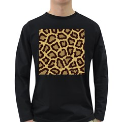 Leopard Long Sleeve Dark T Shirts
