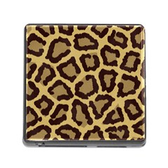 Leopard Memory Card Reader (square)