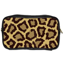 Leopard Toiletries Bags 2 Side