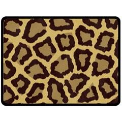 Leopard Fleece Blanket (large)