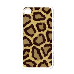 Leopard Apple Iphone 4 Case (white)
