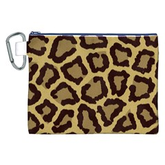 Leopard Canvas Cosmetic Bag (xxl)