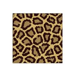 Leopard Satin Bandana Scarf