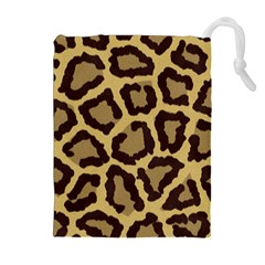 Leopard Drawstring Pouches (extra Large)