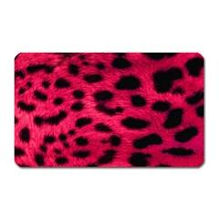 Leopard Skin Magnet (rectangular)