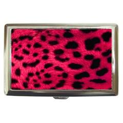 Leopard Skin Cigarette Money Cases