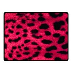 Leopard Skin Fleece Blanket (small)