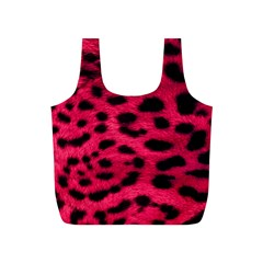Leopard Skin Full Print Recycle Bags (s)