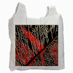 Leaf Pattern Recycle Bag (one Side)