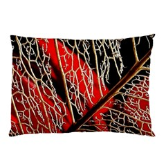 Leaf Pattern Pillow Case (two Sides)