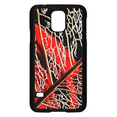 Leaf Pattern Samsung Galaxy S5 Case (black)