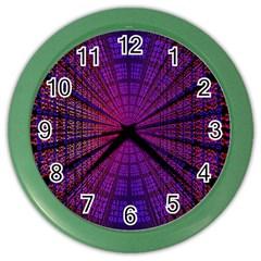 Matrix Color Wall Clocks