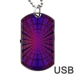 Matrix Dog Tag Usb Flash (one Side)