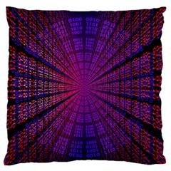 Matrix Large Flano Cushion Case (two Sides)