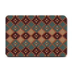 Knitted Pattern Small Doormat