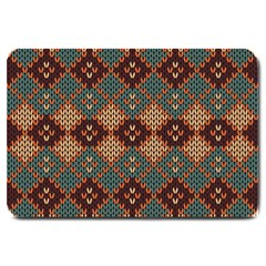 Knitted Pattern Large Doormat