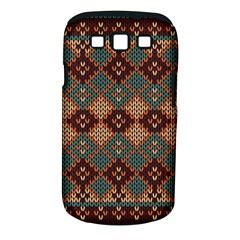 Knitted Pattern Samsung Galaxy S Iii Classic Hardshell Case (pc+silicone)