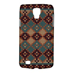 Knitted Pattern Galaxy S4 Active