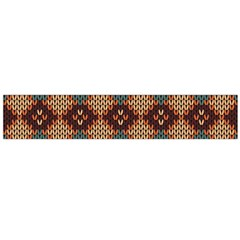 Knitted Pattern Flano Scarf (large)