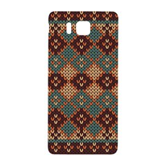 Knitted Pattern Samsung Galaxy Alpha Hardshell Back Case