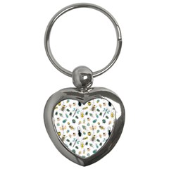 Insect Animal Pattern Key Chains (heart)