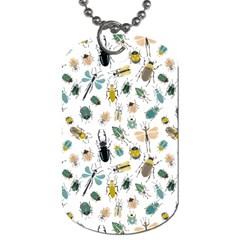 Insect Animal Pattern Dog Tag (two Sides)