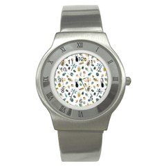 Insect Animal Pattern Stainless Steel Watch