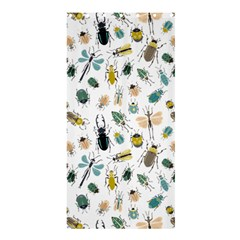 Insect Animal Pattern Shower Curtain 36  X 72  (stall)
