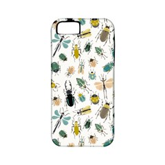 Insect Animal Pattern Apple Iphone 5 Classic Hardshell Case (pc+silicone)