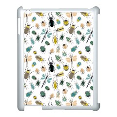 Insect Animal Pattern Apple Ipad 3/4 Case (white)