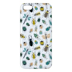 Insect Animal Pattern Apple Iphone 5 Premium Hardshell Case