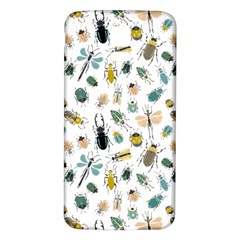 Insect Animal Pattern Samsung Galaxy S5 Back Case (white)
