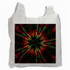 Kaleidoscope Patterns Colors Recycle Bag (one Side)