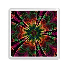 Kaleidoscope Patterns Colors Memory Card Reader (square)