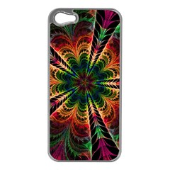 Kaleidoscope Patterns Colors Apple Iphone 5 Case (silver)