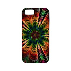 Kaleidoscope Patterns Colors Apple Iphone 5 Classic Hardshell Case (pc+silicone)