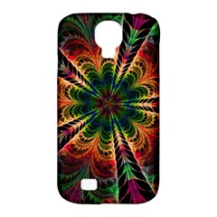 Kaleidoscope Patterns Colors Samsung Galaxy S4 Classic Hardshell Case (pc+silicone)