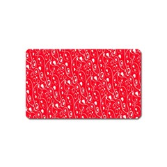 Heart Pattern Magnet (name Card)