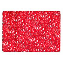 Heart Pattern Samsung Galaxy Tab 10 1  P7500 Flip Case