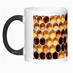 Honey Honeycomb Pattern Morph Mugs