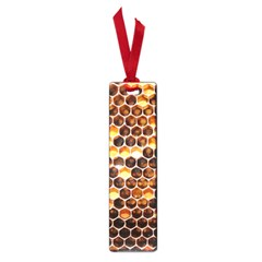 Honey Honeycomb Pattern Small Book Marks
