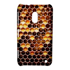 Honey Honeycomb Pattern Nokia Lumia 620