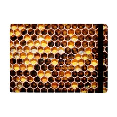 Honey Honeycomb Pattern Ipad Mini 2 Flip Cases
