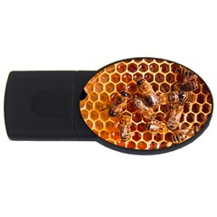 Honey Bees Usb Flash Drive Oval (2 Gb)