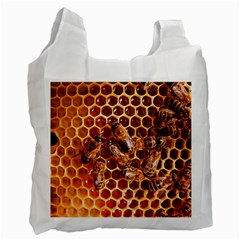 Honey Bees Recycle Bag (one Side)